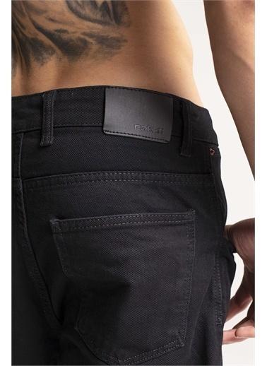 XHAN Siyah Jogger Kot Pantolon  Siyah